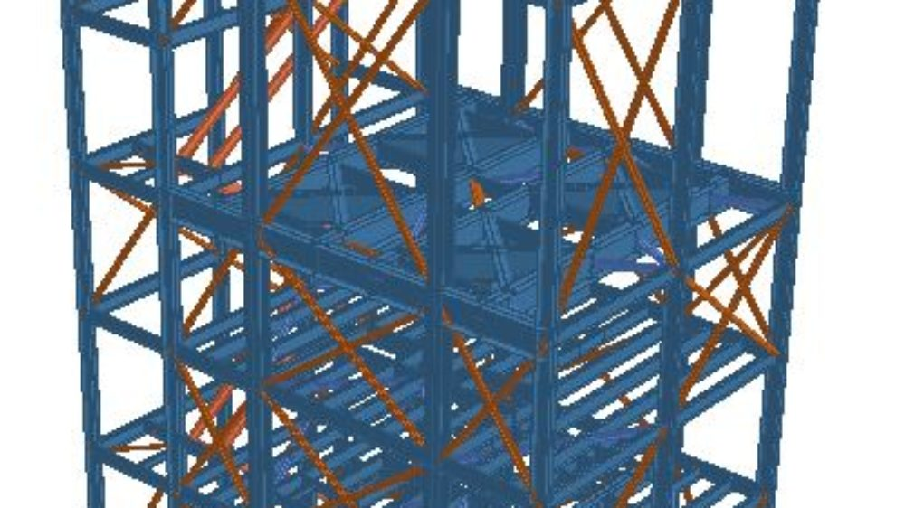 Pict 3 – Building tower -3d extruded